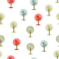 Simple trees icon/symbol on white background. Royalty Free Stock Photo