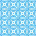 Simple vector seamless geometric blue pattern Stock Photos