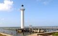 Lighthouse off Mississippi Gulf Coast