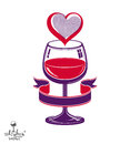 Simple Wineglass Vector Artist...