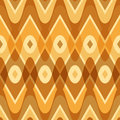 Simple yellow scalloped seamless pattern