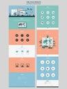 Simplicity one page website design template