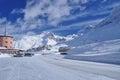 Simplon pass, Swiss Alps, Wallis. Royalty Free Stock Photo