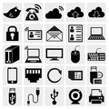 Simplus series icon set Stock Photography