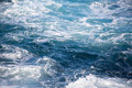 Simply choppy sea only ocean nothing but waves and shades of blue water Stock Photos