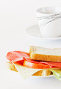 Simply sandwich Stock Photos