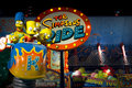 Royalty Free Stock Photography The Simpsons Ride