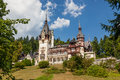 Sinaia romania peles in the city of Royalty Free Stock Photography