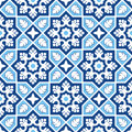 Sindhi tiling pattern vector sindh pakistan backgound Stock Photo