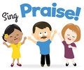 Sing praise Royalty Free Stock Photo