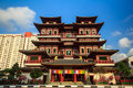 Singapore buddha tooth relic temple Royalty Free Stock Images