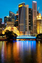 Singapore CBD Royalty Free Stock Photo