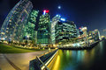 Singapore Central Business District Royalty Free Stock Photography