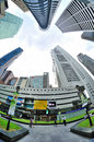 Singapore Central Business District Stock Images