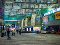Singapore changi airport december in is one of the most bolshizh and comfortable in the world Royalty Free Stock Photo
