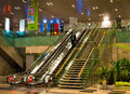 Singapore changi airport december in is one of the most bolshizh and comfortable in the world Royalty Free Stock Images