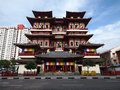 Singapore China Temple Royalty Free Stock Image