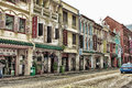 Singapore chinatown street of in Royalty Free Stock Photography