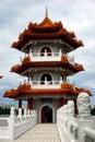 Singapore: Chinese Garden Pagoda Royalty Free Stock Photo