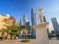Sir Stamford Raffles statue - Singapore Royalty Free Stock Photo