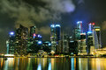 Singapore Cityscape 1 Royalty Free Stock Photo