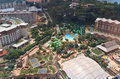 Aerial Sentosa Royalty Free Stock Photo