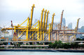 Singapore december brani terminal december singapore braniterminal handle million teus containers Stock Photos