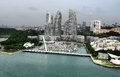 Singapore december keppel bay marina december singapore keppel bay marina exclusive home choice international luxury yachts water Royalty Free Stock Photos