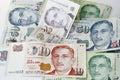 Singapore Dollar Royalty Free Stock Image