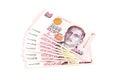 Singapore Dollars. Royalty Free Stock Photo