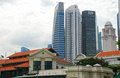 Singapore downtown cityscape Royalty Free Stock Photo