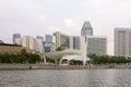 Singapore embankment Royalty Free Stock Photos
