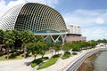 Singapore esplanade museum Royalty Free Stock Photo