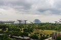 Singapore. Gardens by the Bay Royalty Free Stock Photo
