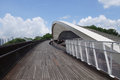 Singapore henderson wave bridge sep the waves is the highest pedestrian in Stock Images