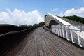Singapore henderson wave bridge sep the waves is the highest pedestrian in Royalty Free Stock Image