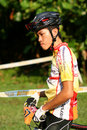 Singapore National cycling Championship 2009 Royalty Free Stock Photo