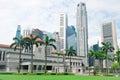Singapore Parliament Royalty Free Stock Photo