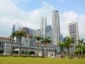 Singapore Parliament building Royalty Free Stock Photo