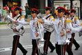 Singapore President's changing of guards parade Stock Photography