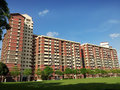 Singapore public housing estate Royalty Free Stock Photos