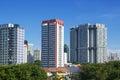 Singapore Public Housing Royalty Free Stock Photo