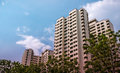 Singapore public residential housing apartment in Bukit Panjang. Royalty Free Stock Photo