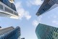 Singapore skyscraper Royalty Free Stock Photo