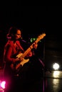 Singer anna calvi live at Viper theatre, Florence Stock Photo