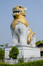 Singha statue Royalty Free Stock Images