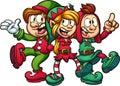 Singing Christmas elves