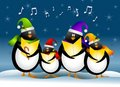Singing Christmas Penguins