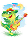 Singing dragon Royalty Free Stock Photo