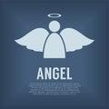 Single Angel Symbol